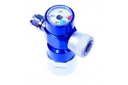 CO2 Μειωτής πίεσης με βαλβίδα και μανόμετρο
