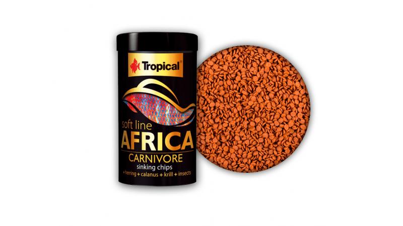 Tropical Africa Carnivore τροφή crisps 100ml / 52gr